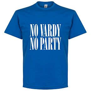 No Vardy No Party Tee - Royal