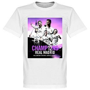 2017 Madrid Champions Tee - White