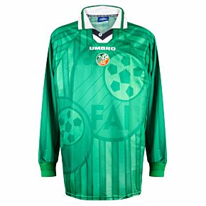 Umbro Republic of Ireland 1997-1999 Home Shirt L/S - NEW Condition Match Issue - Size XL