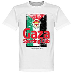 Sporting Club Gaza Flag Tee - White