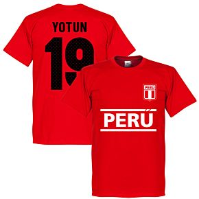 Peru Yotun 19 Team T-Shirt - Red