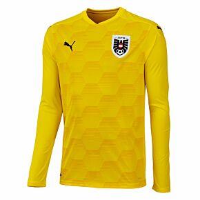 20-21 Austria L/S GK Shirt -Yellow