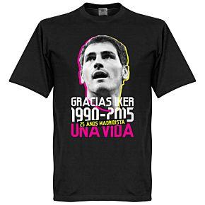 Gracias Iker Casillas Tee - Black