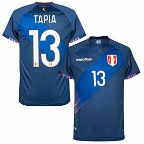 2021 Peru Copa America Away Shirt + Tapia 13 (Fan Style)
