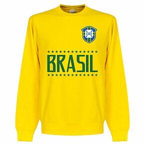 Brasil Team Sweatshirt - Yellow