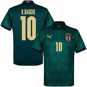 19-20 Italy Renaissance 3rd Shirt + R. Baggio 10 (Official Printing)