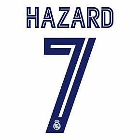 Hazard 7 (Official Printing) - 20-21 Real Madrid Home