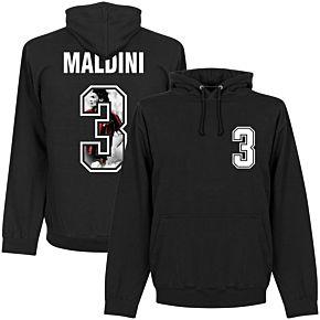 Maldini 3 Gallery Hoodie - Black