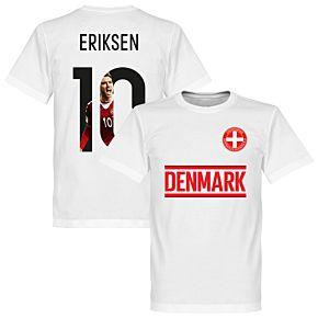 Denmark Eriksen 10 Gallery Team Tee - White