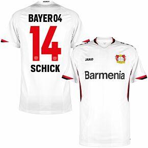 21-22 Bayer Leverkusen Away Shirt + Schick 14 (Official Printing)