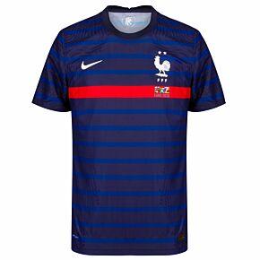 20-21 France Vapor Match Home Shirt + 2020 Transfer