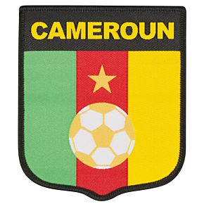 Cameroon Embroidery Patch 9cm x 7.5cm