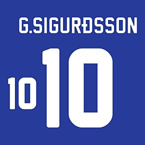 G. Sigurdsson 10 (Official Printing)