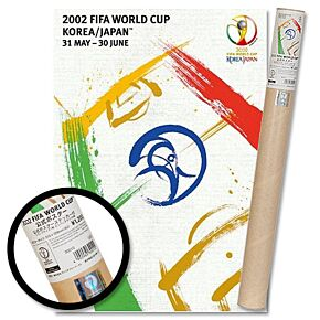 2002 World Cup Korea/Japan Official Poster