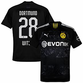 Puma Borussia Dortmund Away Witsel 28 Jersey 2019-2020