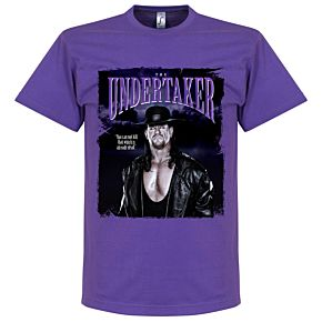 The Undertaker Tee - Purple