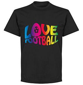Love Football T-shirt - Black
