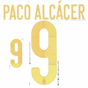 Paco Alcacer 9 (Official Printing)