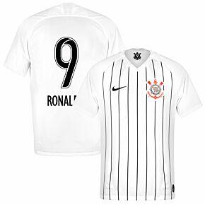 Nike Corinthians Home Ronaldo 9 Jersey 2019-2020 (Fan Style Printing)