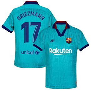 19-20 Barcelona 3rd Shirt - Kids + Griezmann 17 (Fan Style)