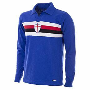 56-57 Sampdoria Home Retro Shirt