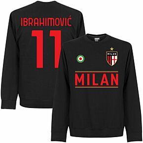 Milan Team Ibrahimović 11 Sweatshirt - Black