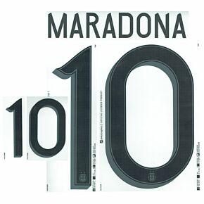 Maradona 10 - Argentina Home 21-22 (Official)