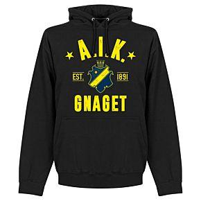 AIK Established Hoodie - Black