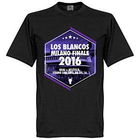 2016 Los Blancos Milano Finale Tee - Black