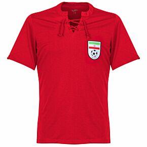 1950's Iran Retro Shirt - Red