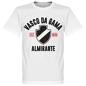 Vasco Da Gama Established Tee - White