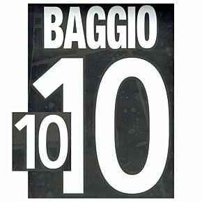 Baggio 10 - 02-03 Italy Home Flex Name and Number Transfer