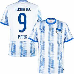 21-22 BSC Hertha Berlin Home Shirt + Piątek 9 (Official Printing)