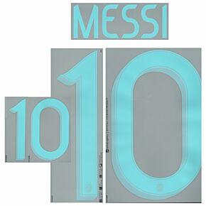 Messi 10 Argentina Away 20-21
