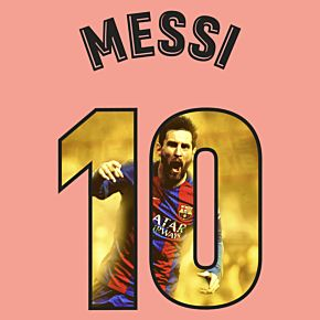 Messi 10 (Gallery Style)