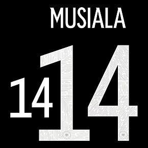 Musiala 14 (Official Printing) 20-21 Germany Away