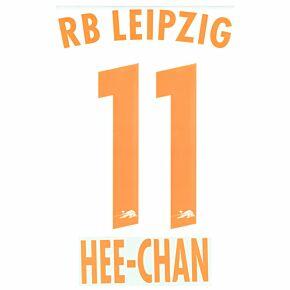 Hee-chan Hwang 11 (Official Printing) - 20-21 RB Leipzig 3rd