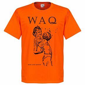 WAQ Tee - Orange