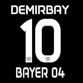 Demirbay 10 (Official Printing) - 20-21 Bayer Leverkusen Home