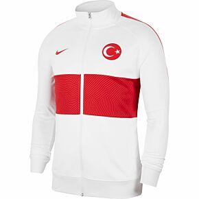 20-21 Turkey I96 Anthem Track Jacket - White