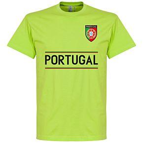 Portugal Team Tee - Apple Green