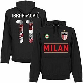 Milan Team Ibrahimović 11 Gallery Hoodie - Black