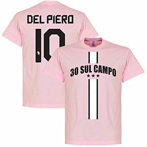 30 Sul Campo Del Piero Tee - Pink