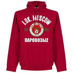 Lokomotiv Moskow Established Hoodie - Red