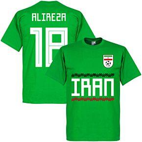 Iran Alireza 18 Team Tee - Green