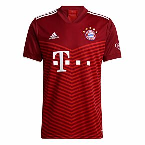 21-22 FC Bayern Munich Home Shirt