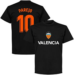 Valencia Parejo 10 Team T-shirt - Black