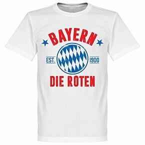 Bayern Established Tee - White