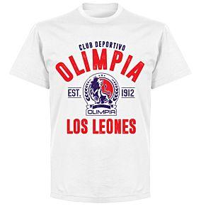 CD Olimpia Established T-shirt - White