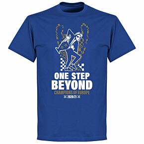 Chelsea Champions of Europe T-shirt - Royal